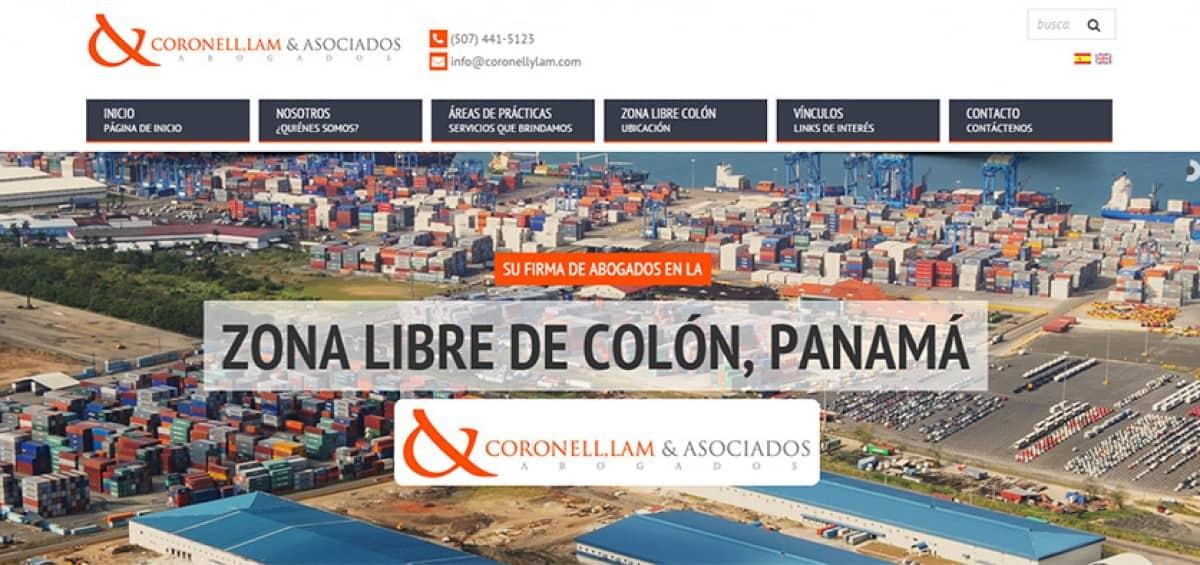 Sitio Coronell, Lam & Asociados