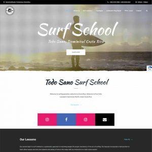 Todo Sano Surf School