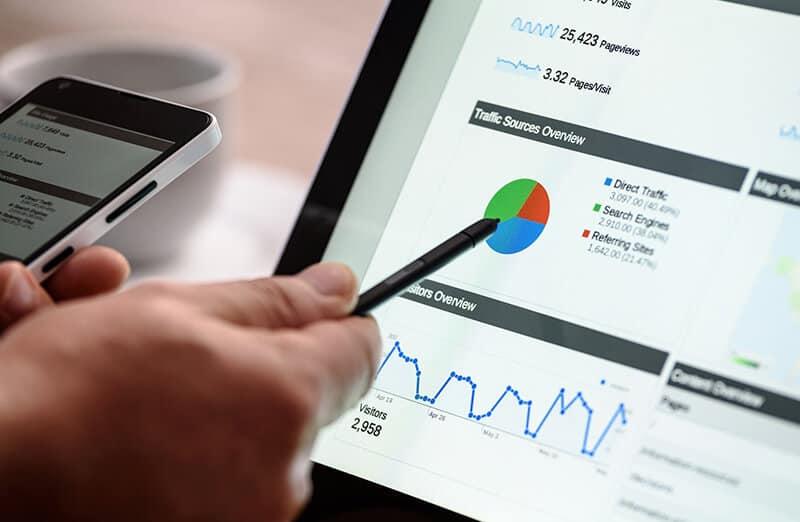 Estadísticas de Google para toma de decisiones
